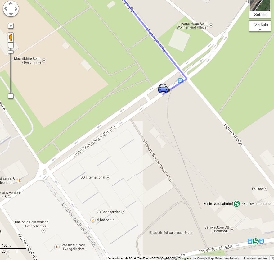 Treffpunkt Nordbahnhof