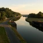 Canal de la Sarre kurz vor der Canal de la Marne au Rhin
