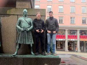 Platz Torgallmenningen in Bergen
